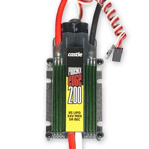 Phoenix Edge 200 AMP ESC, 8S / 33.6V with 5 AMP BEC