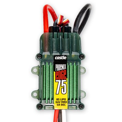 Phoenix Edge 75 AMP ESC, 8S / 33.6V with 5 AMP BEC
