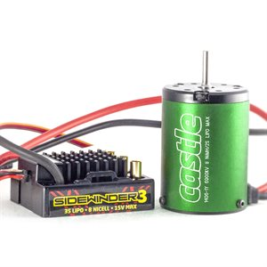 Sidewinder 3 Sport 1:10th Combo with Neu-Castle 1406-6900kv *Out of Stock*