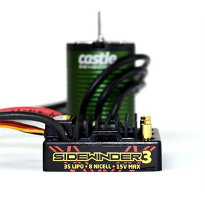 SV3 WATERPROOF 1:10TH 12V ESC 1406-6900 SENSORED COMBO