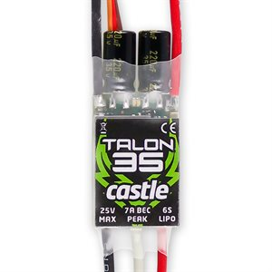 TALON 35 AMP ESC, 6S / 25V WITH 8 AMP BEC