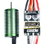 Sidewinder Micro 2 Sport 1:18 Scale Combo with 0808-8200Kv Motor