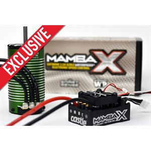 *ONLINE EXCLUSIVE* MAMBA X ESC W / 1515-2200KV SENSORED 1:8 E-BUGGY EDITION