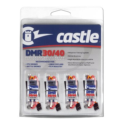 DMR 30 / 40 Dedicated Multi-Rotor ESC Four Pack