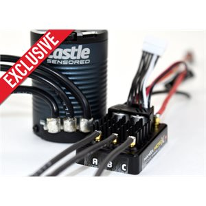 *ONLINE EXCLUSIVE* MAMBA MICRO X CRAWLER EDITION ESC WITH 1406-2850KV SENSORED MOTOR COMBO