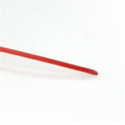 Castle Wire - 24 Gauge - Red - 60""