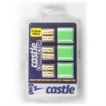 Polarized Castle Connectors - 6.5mm Male Multi-Pack