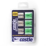 Polarized Castle Connectors - 6.5mm Female Multi-Pack