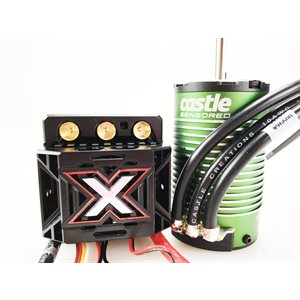 MONSTER X 25.2V ESC,8A PEAK BEC W / 1515-2200KV SENSORED MOTOR