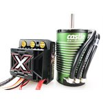 MONSTER X 25.2V ESC, 8A PEAK BEC W / 1512-2650KV SENSORED MOTOR