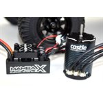 MAMBA X, SENSORED, 25.2V WP ESC AND 1406-1900KV SENSORED COMBO