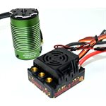 MONSTER 2 1:8TH 25V ESC WATERPROOF W /  2650KV MOTOR SENSORED