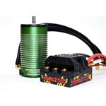 MONSTER 2 1:8TH 25V ESC WATERPROOF W /  2200KV MOTOR SENSORED