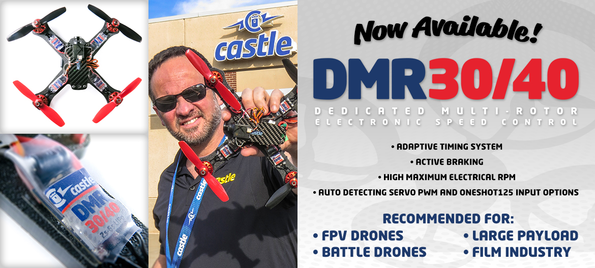 Now Available: DMR Dedicated Multi-Rotor Controllers!